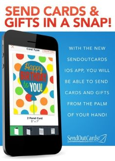 Send Cards Gifts In A Snap With The New SendOutCards Mobile APP Click
