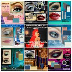 8 different disney princess looks and all are done with Mary Kay makeup. Contact me for more info. rbest@marykay.com