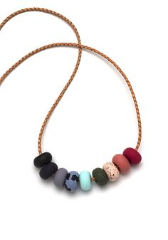 Image of Nikki 9 Bead Necklace