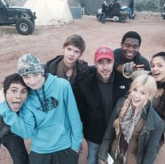 SCORCH TRIALS CAST | Wait if the brown hair girl is Brenda then who's the blonde?