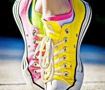 Inspiring picture colour, converse, photo, photography, pink. Resolution: 425x640 px. Find the picture to your taste!