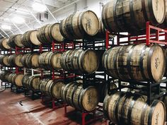 Lets all just build houses out of beer barrels and live happily ever after like kings and queens. #beer #brewery