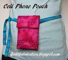 Cell Phone Pouch for jogging