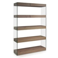 Ebern Designs Add a touch of contemporary elegance to your home with this bookshelves. Design at an affordable price. Rustic Bookcase, Etagere Bookcase, Ladder Bookcase, Bookshelves, Walnut Shelves, Solid Wood Shelves, Metal Shelves, Modern Storage Boxes, Corner Display Unit