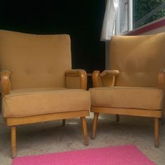 Stripping these little beauts  #sunsoutgunsout #upholstery #vintage #midcentury #Stockport #Manchester #prerevival