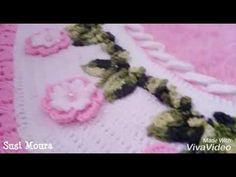 Demonstração de alguns dos meus trabalhos. Conta  to para encomenda Via WhatsApp (64) 99256 0911 30, Garland, Farmhouse Rugs, Craftsman Fabric, Yarn Crafts, Treadmills, Round Shag Rug, Crochet Throw Pattern, Darts