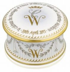 Royal Wedding pill box