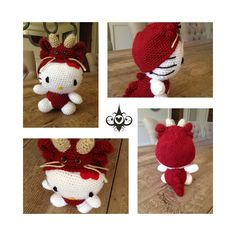Chinese Dragon Hello Kitty, pattern on Etsy