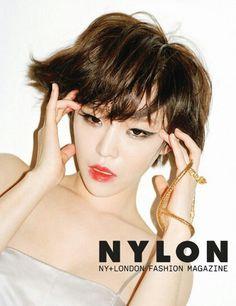 She korean singer, name is gain
