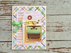 using Gossamer Blue March Kits (Mish Mash) Cool Cards, Diy Cards, Gossamer Blue, Lion Design, Project Life Cards, Mish Mash, Card Making Inspiration, Mail Art, Paper Cards