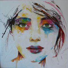 Droit dans les yeux by Mahé.