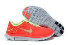Nike Free 4.0 V2 Orange Volt Womens Shoes On Sale