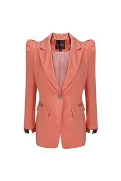 Shrug Detailed Single Breasted Blazer [NCSU0151] - $77.99 :  romwe.com #Romwe