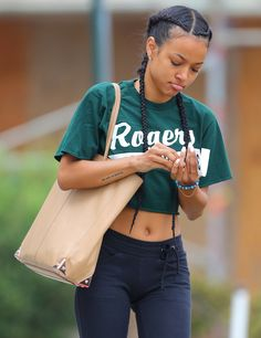 Her belly button looks like a light brown life saver gummy lol