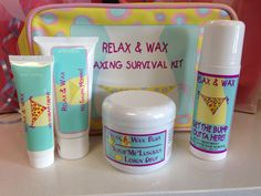Relax & Wax   Waxing Survival Kit  $79.80
