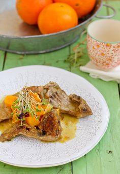 """Receta 859: Conejo con naranja » 1080 Fotos de cocina  - proyecto basado en el libro """"1080 recetas de cocina"""", de Simone Ortega. http://www.alianzaeditorial.es/minisites/1080/index.html"""