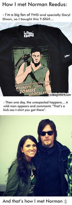 How she met Norman