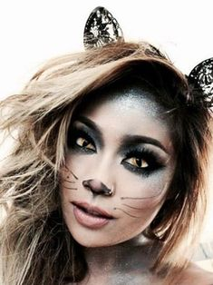 Awesome cat makeup tutorials and inspirations | makebeautysimple.com @cath_millen