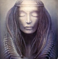(Insert) From the cover of Emerson, Lake and Palmer's 1973 album, Brain Salad Surgery | The Most Unforgettable Creations of H. R. Giger