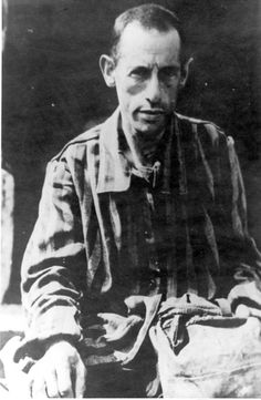 A survivor after the liberation of the Bergen-Belsen Concentration Camp in Germany. The camp was liberated on April 15, 1945 by the British 11th Armoured Division.