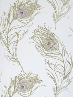 BuyPrestigious Textiles Peacock Wallpaper, Heather, 1938/153 Online at johnlewis.com