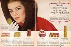 Cosmetics Christmas Ads ~ 1943-1963