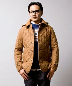 Beauty & Youth ∴ wool quilted jacket