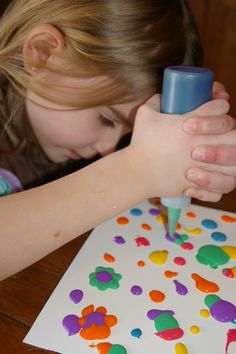 Homemade Puffy Paints