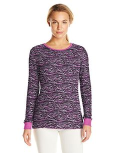 Women's Thermal Underwear - Fruit of the Loom Womens Waffle Thermal Underwear Top >>> You can find more details by visiting the image link.