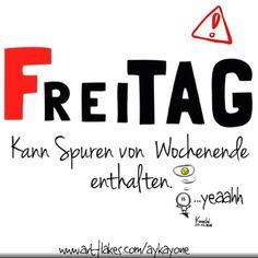 chtung #FREITAG ‼️ Kann #Spuren von #Wochenende enthalten!!!  yeaahhh...schönen Freitag & kommt alle #gut ins Wochenende  #spaß #sketch #sketchclub ✌️