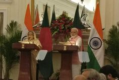 """West Bengal CM calls Teesta Bengals lifeline says it cannot be taken away   PM Narendra Modi and PM Sheikh Hasina of Bangladesh addressing a joint press conference  """"There is very little water in Teesta River it is our lifeline the lifeline of North Bengal"""" Banerjee was quoted as saying.  She said other trans-national rivers could be diverted to attend to Bangladesh's water needs. I am willing to look at any alternate proposal to address your issues.  So far from what we have gleaned from…"""