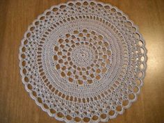 Easy Crochet Round Doily Pattern                                                                                                                                                                                 More