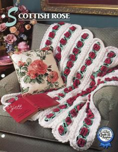 Scottish-Rose-Afghan-Annies-crochet-pattern