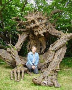 ESCULTURA - Árvores Encantadas