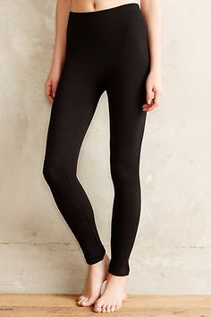 Fleece-Lined Cable Leggings - anthropologie.com #anthrofave