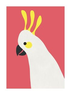""""""" - Art Print by Catherine Culvenor in beautiful frame options and a variety of sizes. Small Canvas, Canvas Art, Guache, Custom Art, Bird Art, Art Inspo, Wall Art Prints, Graphic Art Prints, Art For Kids"""