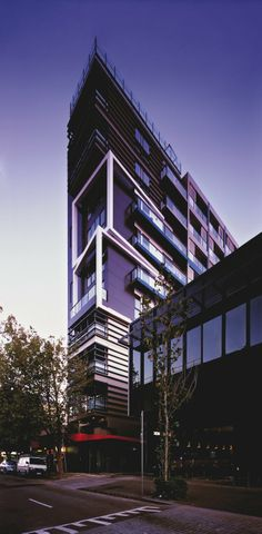9 storey eco-friendly Melbourne apartment building goes up in 5 days : TreeHugger