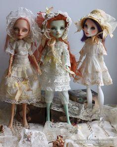 Антикварные кружева на куклах Монстр Хай / Одежда и обувь для кукол - своими руками и не только / Бэйбики. Куклы фото. Одежда для кукол