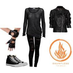 Divergent: Tris Costume (Dauntless)\