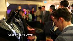 Watch the Chester Barrie catwalk show for autumn/winter 2014