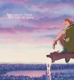 hunchback of notre dame -  the song out there makes me cry everytime, something about his voice!