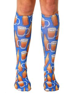Beer Knee High Socks