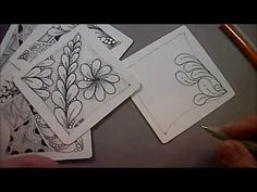 Flux Tangle Pattern Lesson #45 - YouTube