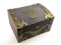 How I made my Dungeon Roll treasure chest. | Dungeon Roll | BoardGameGeek