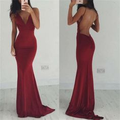 Backless Prom Dresses,Spaghetti Straps Prom Dresses,Sexy Prom Dresses,Burgundy Prom Dresses, V-neck Prom Dresses,Cocktail Prom Dresses ,Evening Dresses,Long Prom Dress,Prom Dresses Online,PD0161