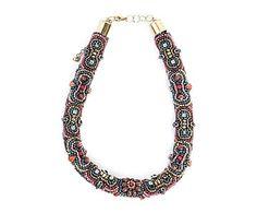 Collar bordado Shania - multicolor