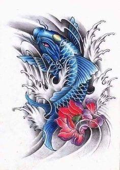 잉어 Hijab hijab and dress Kio Fish Tattoo, Pez Koi Tattoo, Koi Tattoo Sleeve, Dragon Koi Tattoo Design, Koi Dragon Tattoo, Japanese Koi Fish Tattoo, Koi Fish Drawing, Body Art Tattoos, Fish Tattoos