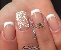 15+ Cool and Beautiful Short Nail Art Ideas 2016 - Styles latest