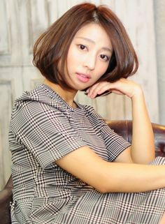 大人美髪ボブ 【Hula hair】 http://beautynavi.woman.excite.co.jp/salon/27762?pint ≪ #bobhair #bobstyle #bobhairstyle #hairstyle・ボブ・ヘアスタイル・髪型・髪形 ≫
