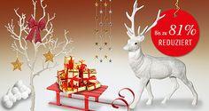 Die Countdown läuft... nur noch für kurze Zeit bis zu 81 % reduzierte #Weihnachtsartikel . #Sale   #Reduziert   #Sonderangebote   #Weihnachtsdekoration #Weihnachtsdeko #Winterdeko   Greifen Sie jetzt zu solange der Vorrat reicht!! http://www.decowoerner.com/de/Aktuelles-11321/Angebote-des-Monats-11492.html